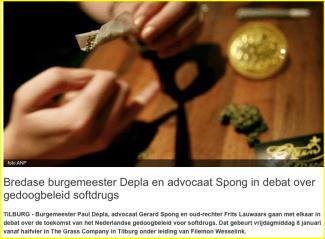 Spong en Lauwaars: on the road voor Johan van Laarhoven (Misdaadjournalist, 08 januari)