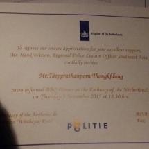 Uitnodiging NL ambassade