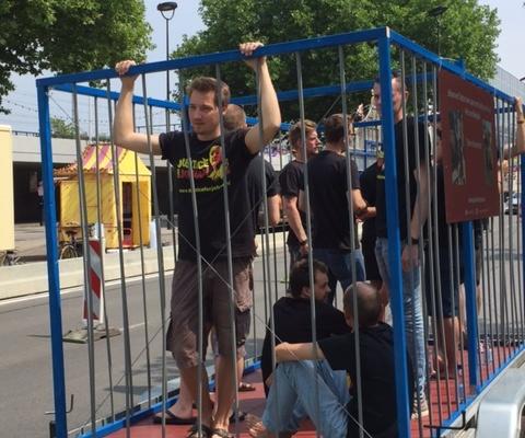 Verslag actiedag Johan en Tukta twee jaar gedetineerd